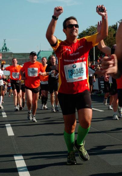Maratón Berlín 2012