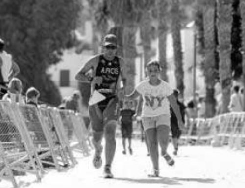 Triatlon en Cabo de Gata: entre amigos