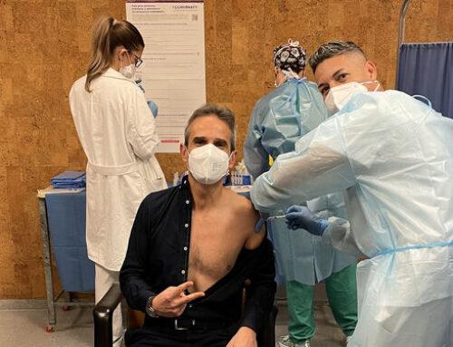 Mi segunda dosis de la vacuna del coronavirus